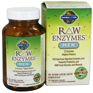 Garden of life vitamin code raw enzymes men 90 caps - Garden of life digestive enzymes ...