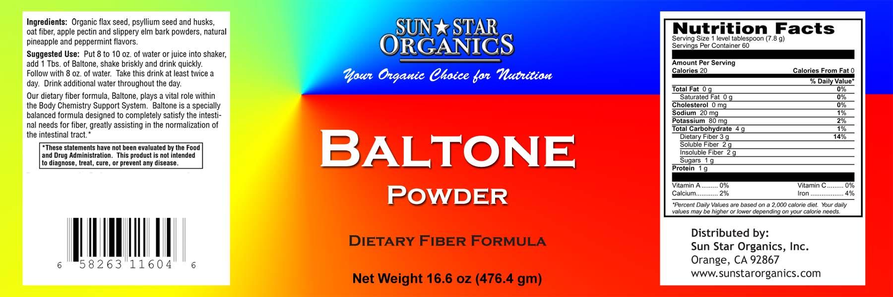 Baltone Powder